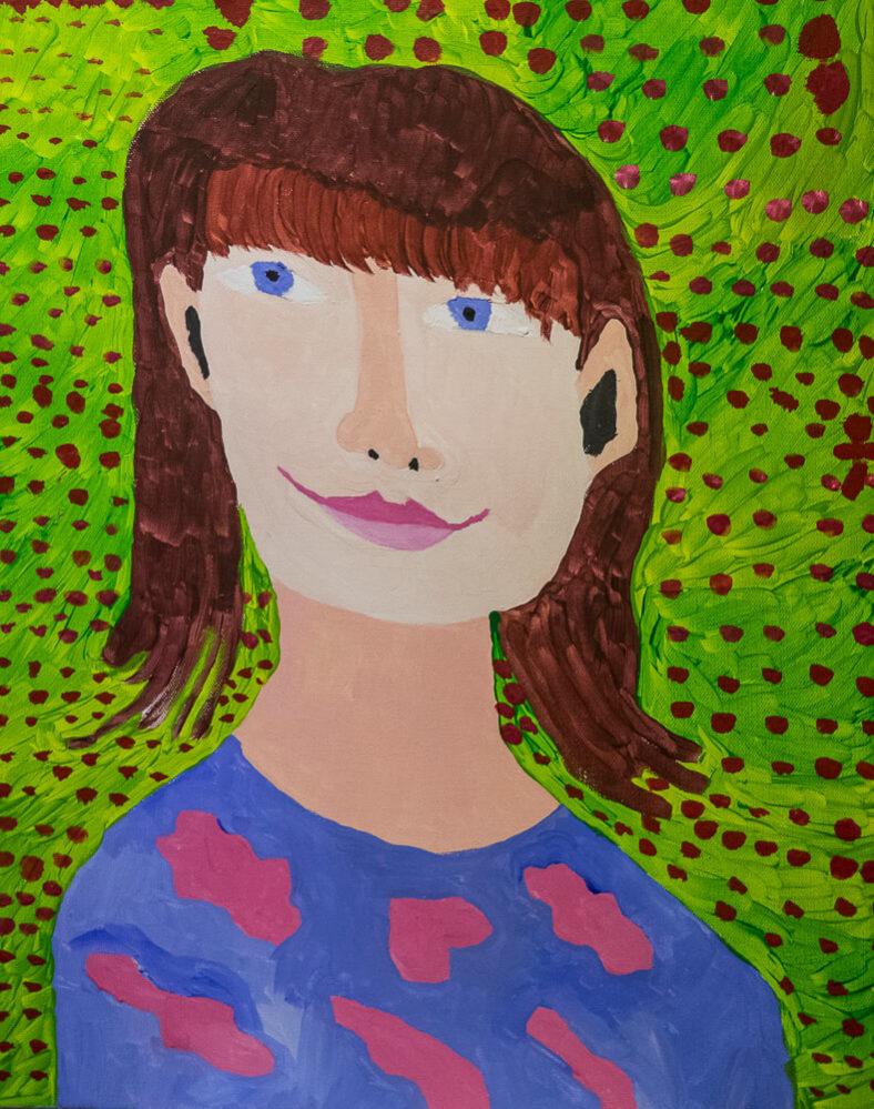 Self-Portrait 2 | Photo Credit: Eva Blue