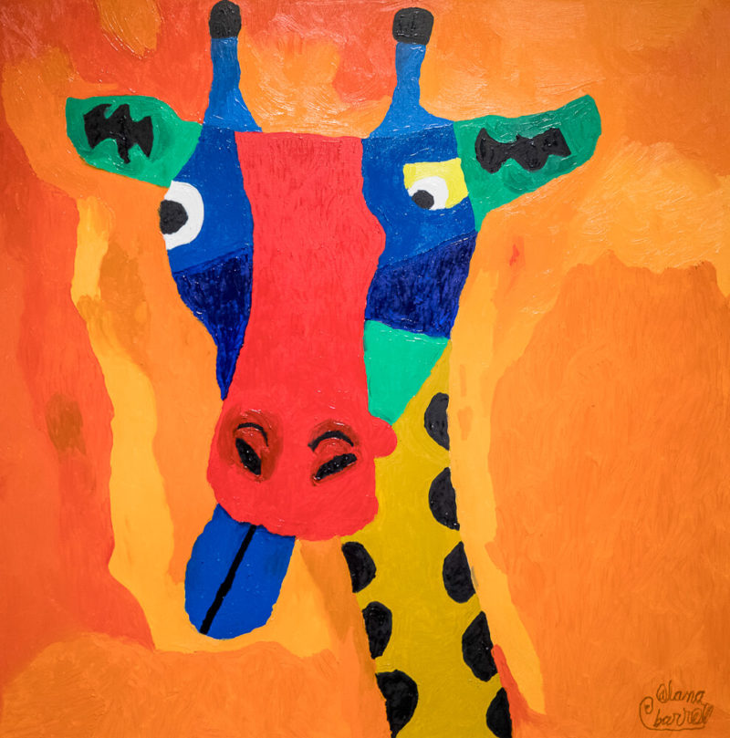 Giraffe | Photo Credit: Eva Blue