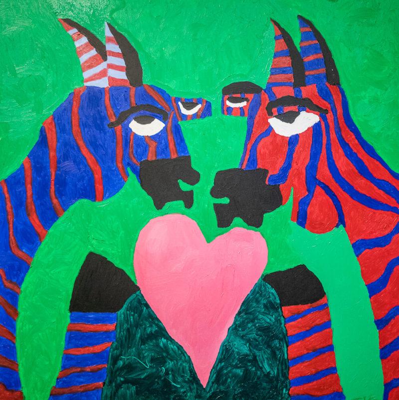 Zebras in Love | Photo Credit: Eva Blue
