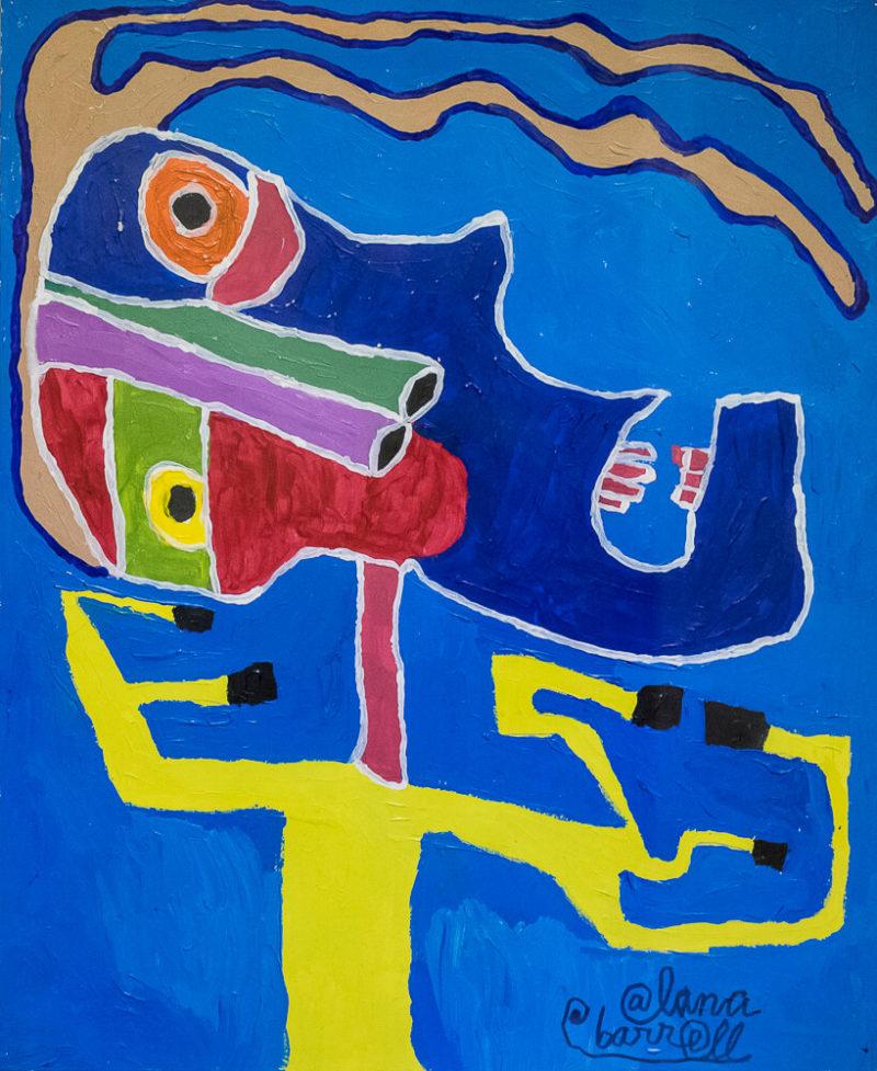 Picasso Man | Photo Credit: Eva Blue