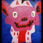 Hyena by Alana Barrell