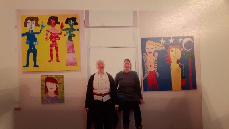Alana in the CAP Gallery