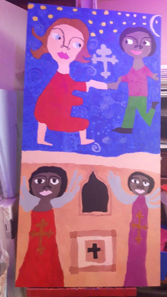 Dancing in Lalibela by Alana Barrell