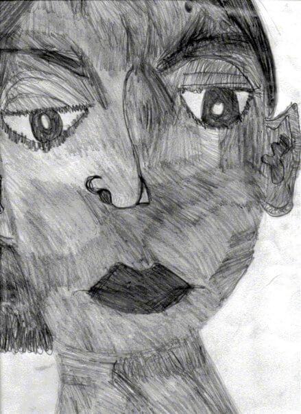 Ethiopian Lady by Alana Barrell