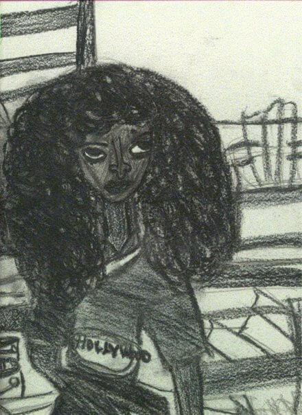 Hollywood Sketch by Alana Barrell