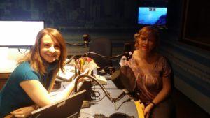 Sabrina Marandola and Alana Barrell on CBC Montreal Radio's Homerun