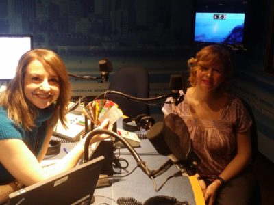 Sabrina Marandola and Alana Barrell on CBC Montreal Radio's Homerun