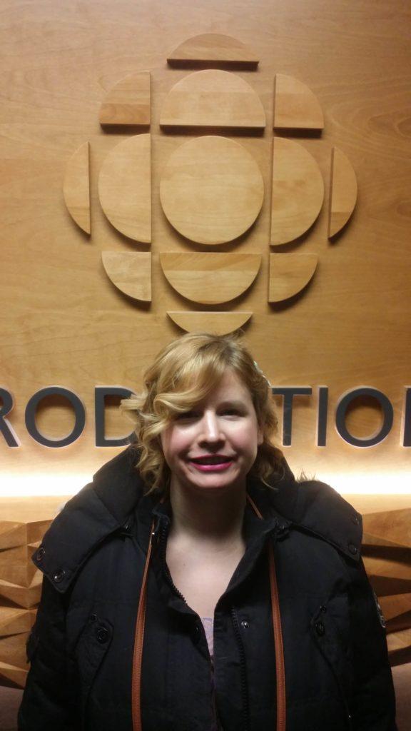 Alana Barrell at CBC