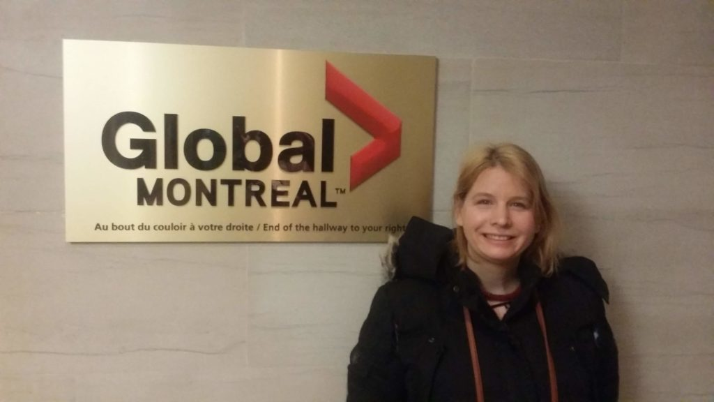Alana at Global Montreal