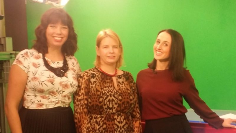 Alana with the Global Montreal Team