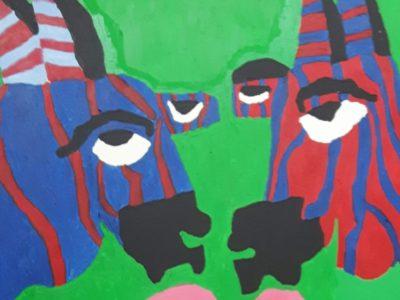 Zebras by Alana Barrell