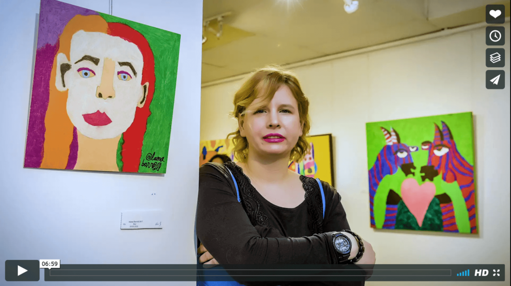 Documentary About Artist Alana Barrell